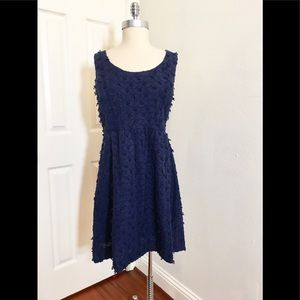 Vineyard Vine Dress Nautical Navy Sz. 14